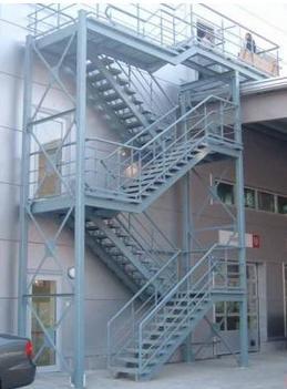 Лестницы, площадки МК, КМД