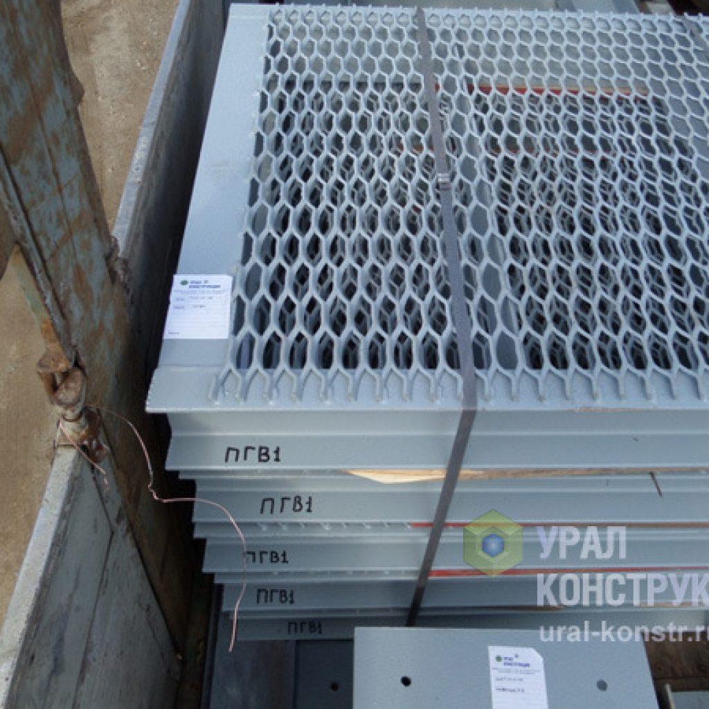 Маркированные и упакованные металлоконструкции